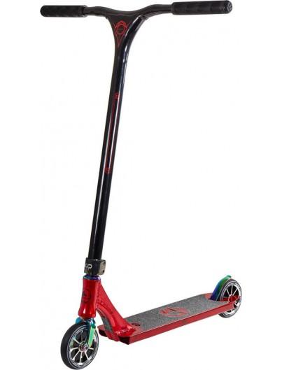 Crisp Evolution Polished Red-Metallic Stuntstep