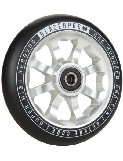 Blazer Pro 110mm Stuntstep Wiel Silver
