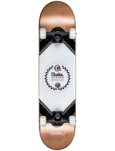 Choke Heavy Metal 8.0 Skateboard Bronze