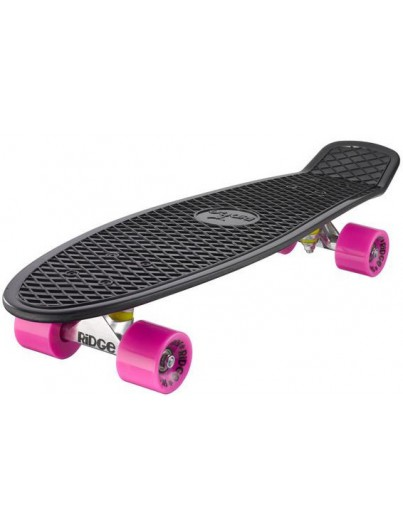 Ridge 27'' Penny Board Black-Pink