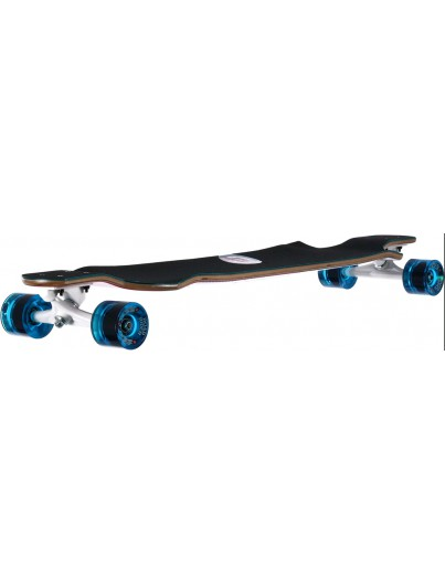 Santa Cruz Spiral Dot 40.0 Dropdown Longboard Blue-Pink