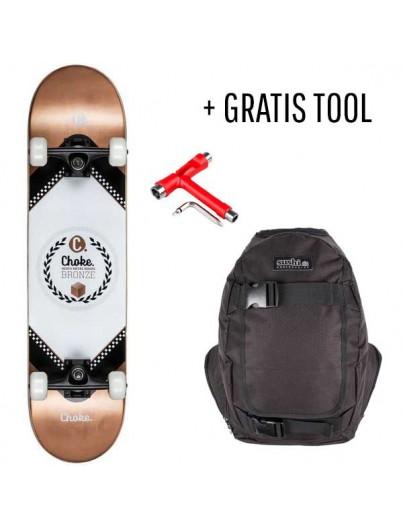 Choke Skateboard Pack Bronze + GRATIS Tool