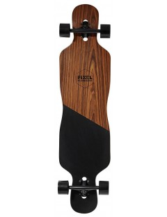 Pixel Black Oak 42'' Dropthrough Longboard