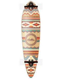 Restless Magnum Aztec 39.0 Pintail Longboard