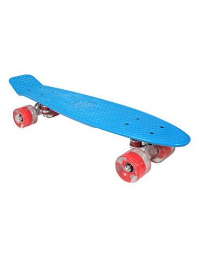 Awaii Vintage 22'' Penny Board LED Blauw