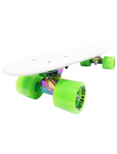 Ridge 22'' Penny Board Neotruck White-Green
