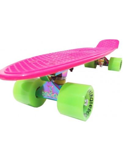 Ridge 22'' Penny Board Neotruck Pink-Green
