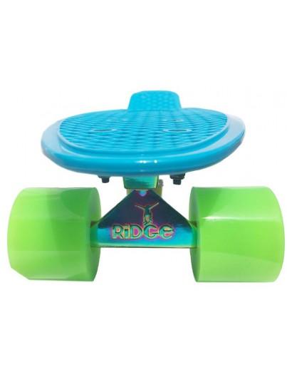 Ridge 22'' Penny Board Neotruck Blue-Green