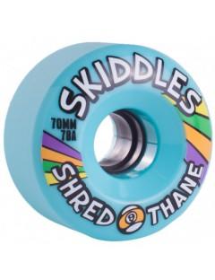 Sector 9 Skiddles 70mm Longboard Wielen Blauw