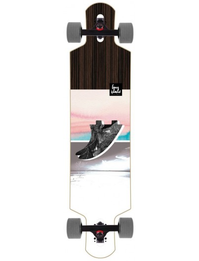 Long Island Fin 41'' Dropthrough Longboard