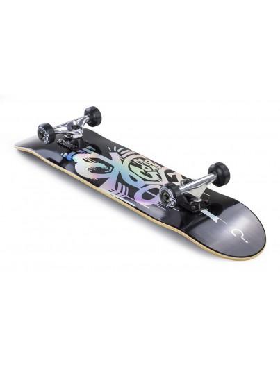 Enuff Hologram Black 8'' Skateboard