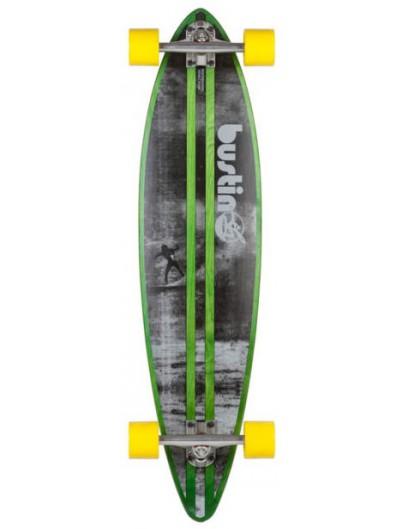 Bustin NY Surf Bamboe 38'' Pintail Longboard