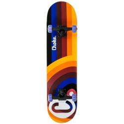 Choke The High C 8'' Skateboard Redish