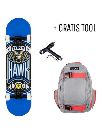 Tony Hawk Skateboard Pack Fullcourt + GRATIS Tool