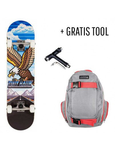 Tony Hawk Skateboard Pack Outrun + GRATIS Tool
