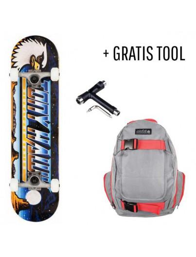 Tony Hawk Skateboard Pack Moonscape + GRATIS Tool