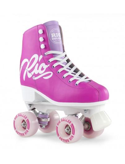 Rio Roller Script Rolschaatsen Pink-Lilac
