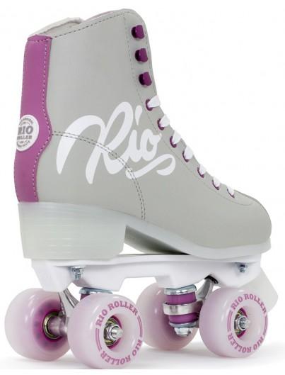 Rio Roller Script Rolschaatsen Grey-Purple