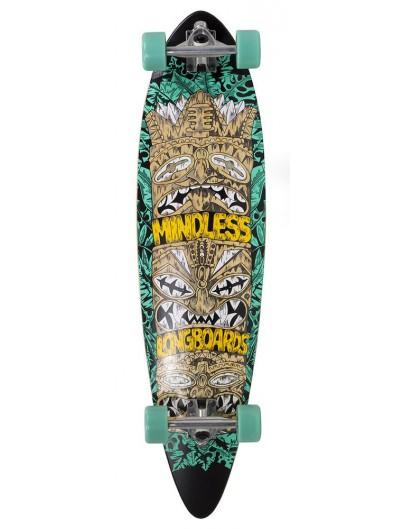 Mindless Tribal Rogue IV 38'' Pintail Longboard Teal