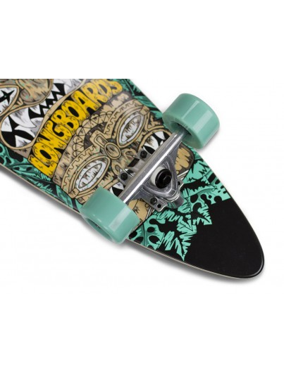 Mindless Tribal Rogue IV 38'' Pintail Longboard Teal