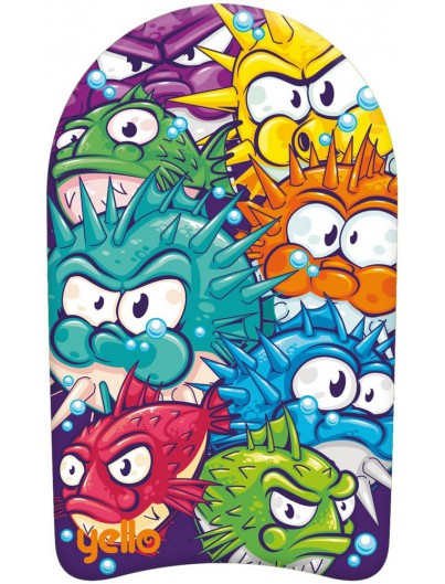 Yello Animals 19'' Kickboard