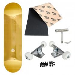 Sushi Skateboard Setup Foil Gold