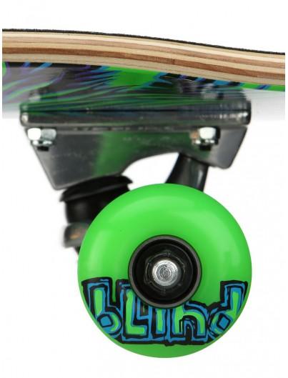 Blind Lion Soft Wheels 7.625 Skateboard Neon Green