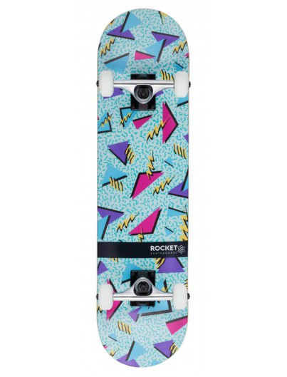Rocket Distinct Retro 7.75'' Skateboard
