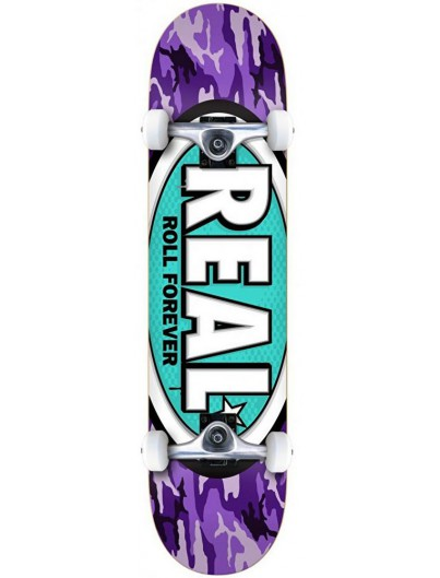 Real Awol Oval Medium 7.75'' Complete Skateboard