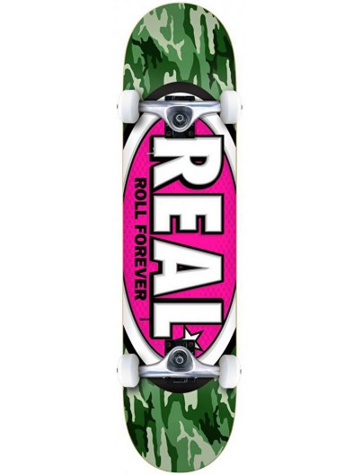 Real Awol Oval Small 7.5'' Complete Skateboard