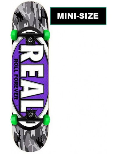 Real Awol Oval Mini 7.3'' Complete Skateboard