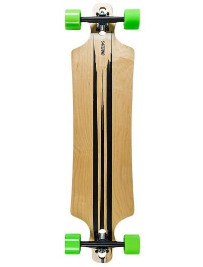 Saterno Dropthrough Longboard Brush Stroke 39.5''