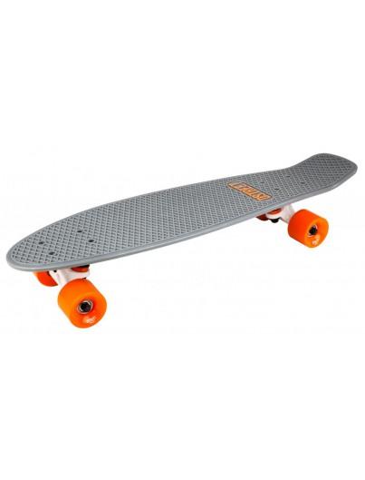 D-Street 27'' Penny Board Grey-Orange