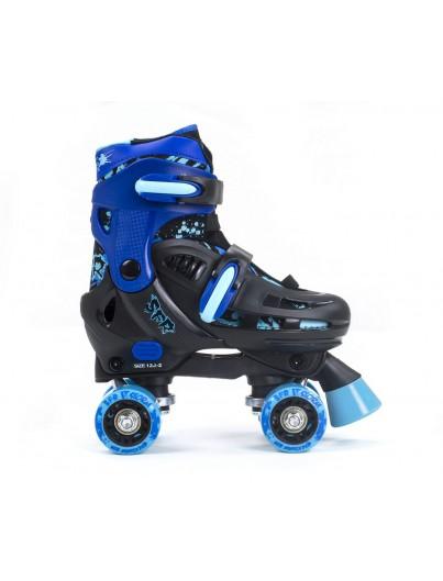 SFR Verstelbare Rolschaatsen Storm III Blauw
