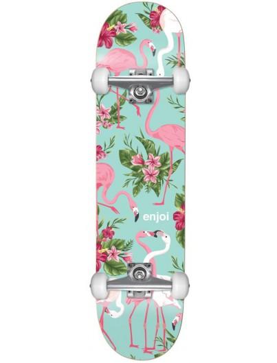 Enjoi Flamingo Resin Soft Wheels 7.75'' Skateboard