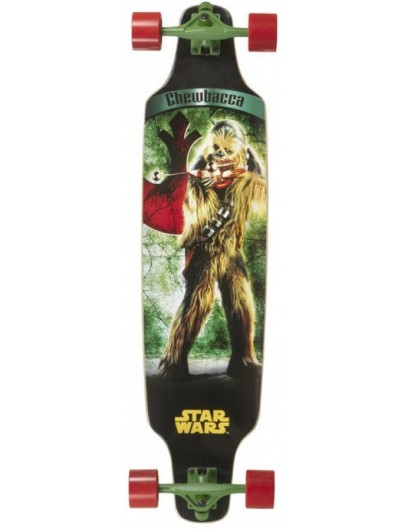 Star Wars Chewbacca 38'' Topmount Longboard