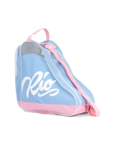 Rio Roller Script Rolschaatstas Blue-Pink