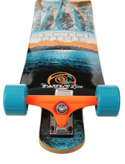 Sector 9 Faultline 39.5'' Longboard Orange