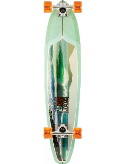 Sector 9 Green Machine 38'' Kicktail Longboard