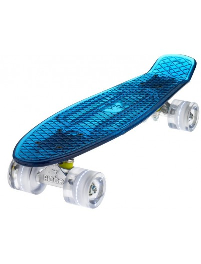 Ridge Blaze 22'' Penny Board LED White
