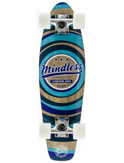 Mindless Daily II 24'' Mini Cruiser Blue