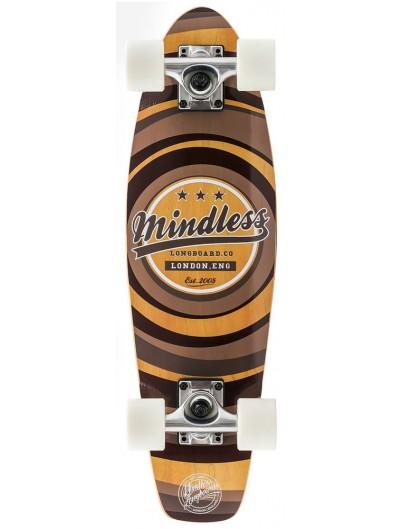 Mindless Daily II 24'' Mini Cruiser Brown