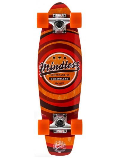 Mindless Daily II 24'' Mini Cruiser Orange