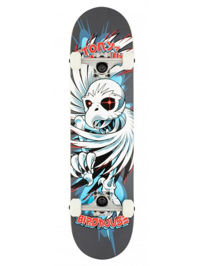 Birdhouse Stg1 Spiral Hawk 7.75 Skateboard Grey