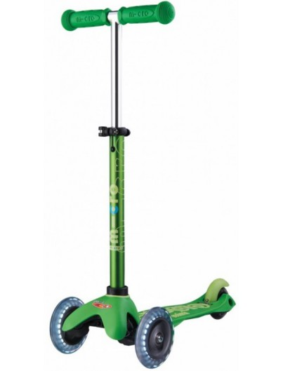 Micro Mini Deluxe Kinderstep LED Green