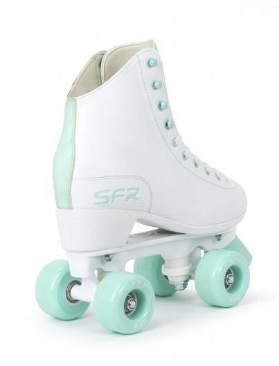SFR Figure Rolschaatsen Wit-Mintgroen