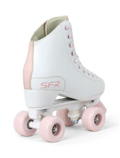 SFR Figure Rolschaatsen Wit-Roze