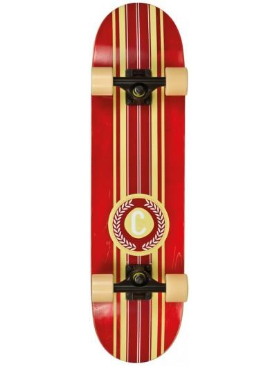 Choke Classic 7.75'' Cruiser Skateboard Rood