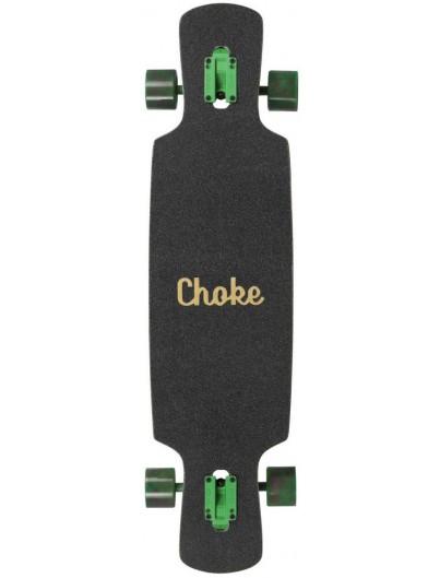 Choke Lolliipop Trick Pro 37.5'' Longboard Green-Red