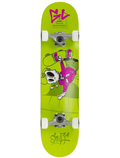 Enuff Skully 7.5'' Mini Skateboard Groen